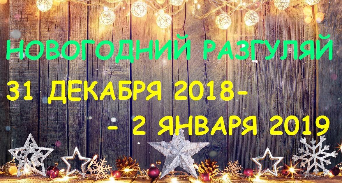 Новогодний разгуляй 2019